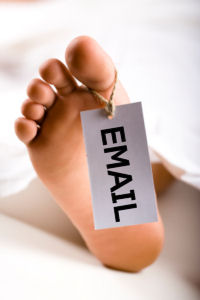 Is email marketing dead image by Think Big Online