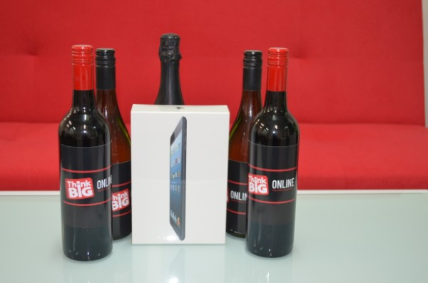 32 GB Ipad Mini prize image by Think Big Online