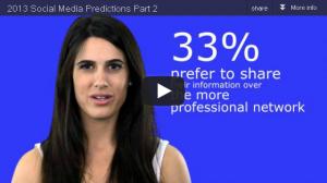 2013 Social Media Predictions Part 2
