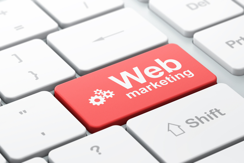 a keyboard button saying Web Marketing Agencies in Australia