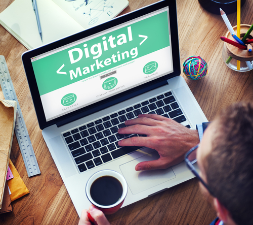 an expert at work from a digital marketing company