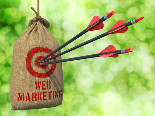 hit your target in web marketing