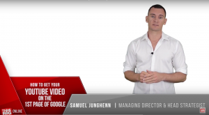 How to Get your Youtube Video on the First Page of Google