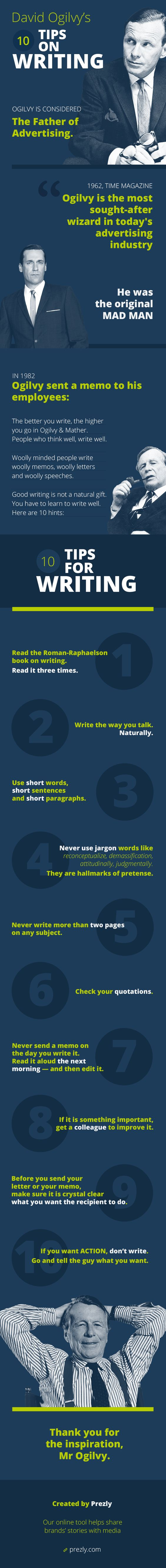 David Ogilvy Copywriting Tips