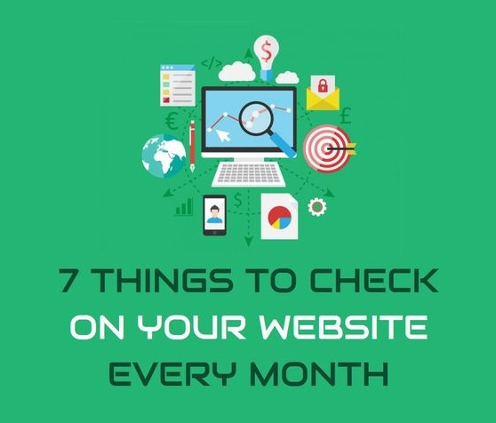 Featured Image for 7 Things to Check on Your Website Every Month