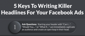 5 Ways to Write Power Headlines for Attention-Grabbing Facebook Ads