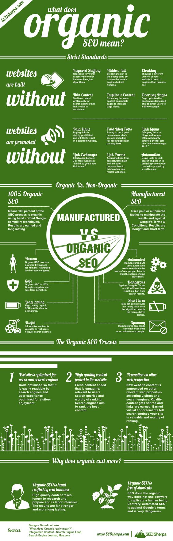 Infographic Image for Organic SEO